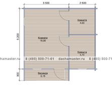 Одноэтажный домик 5260