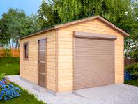 Деревянный гараж 5х4
