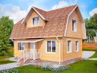 Дом из клееного бруса 6х9