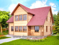Дом деревянный 10х10