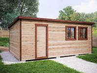 Деревянная постройка 4х6