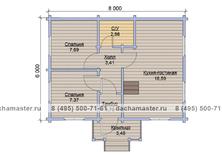 Дом с мансардой одноэтажный