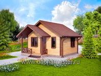 Дом с террасой 5х6