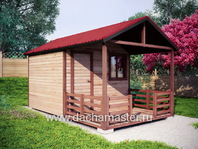Гостевой домик с террасой 5х3
