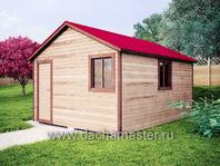 Каркасный домик 5х4