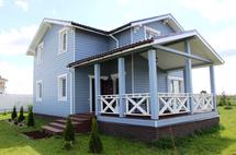 Пристройка террасы к деревянному дому