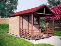 Одноэтажный домик 5х3