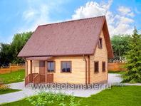 Двухэтажный дом 6х8