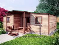 Одноэтажный домик 8.5х7.5