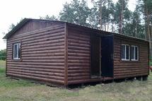 Дом из двух бытовок 6х8