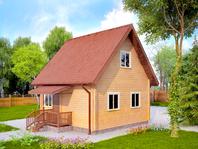 Дом из профилированного бруса 6х6