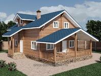 Пристройка к дому с двухскатной крышей 8х3
