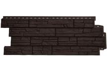 Фасадные панели Grand Line сланец коричневый