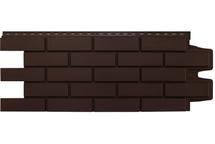 Фасадные панели Grand Line клинкерный кирпич стандарт коричневый