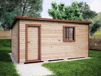 Деревянная постройка 4х5