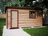 Деревянная постройка 5х3