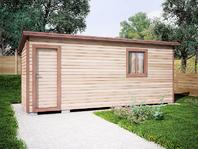 Деревянная постройка 6х2