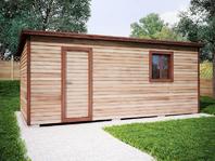 Деревянная постройка 6х3