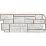 Фасадная панель Fine Ber камень мелованный белый