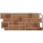 Фасадная панель Fine Ber камень терракотовый