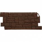 Фасадная панель Fine Ber камень дикий коричневый