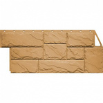 Фасадная панель Fine Ber камень крупный песочный
