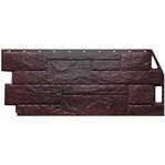 Фасадная панель Fine Ber камень природный коричневый