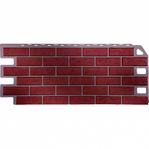 Фасадная панель Fine Ber кирпич красный обожженый