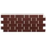 Фасадная панель Fine Ber кирпич облицовочный красный