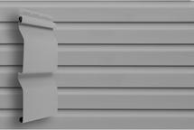 Сайдинг Grand Line D4, корабельная доска (slim) серый