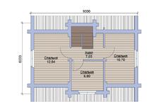 Дом 6х9 из бруса