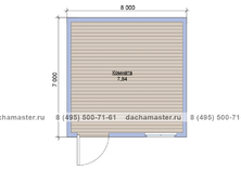 Гостевой домик 3х3