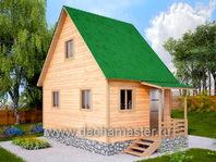 Двухэтажный дом 4х6