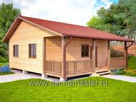 Дом деревянный 8х8