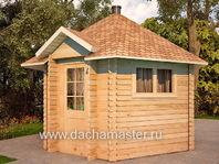 Гостевой гриль домик