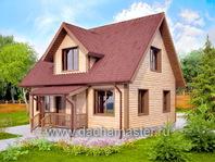 Типовой дом 9х7
