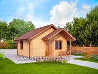 Одноэтажный домик 6х6
