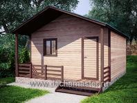 Одноэтажный домик 6х6.2