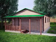 Дачный домик 6х9