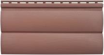 Сайдинг Альта Профиль блокхаус BH 03 красно коричневый