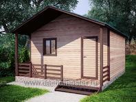 Дачный домик 6х6.2