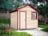 Одноэтажный домик 3х3
