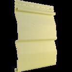 Сайдинг корабельный брус свело - желтый Tecos
