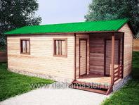 Одноэтажный домик 8х3.8