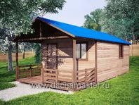 Одноэтажный домик 8х4