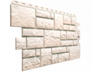 "Фасадная панель Docke ""Burg"" мрамор белый"