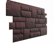 "Фасадная панель Docke ""Burg"" мрамор темный"