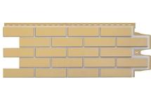 Фасадные панели Grand Line клинкерный кирпич премиум горчичный