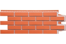 Фасадные панели Grand Line клинкерный кирпич премиум коралловый