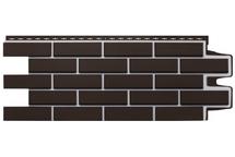 Фасадные панели Grand Line клинкерный кирпич премиум шоколадный